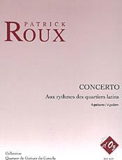 Concerto Aux rythmes des quartiers latin - Roux, Patrick