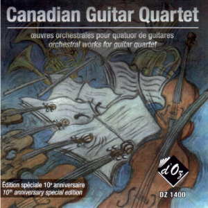 Orchestral Works for Guitar Quartet