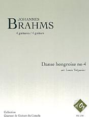 Danse hongroise no 4 (arr. L. Trépanier) - Brahms, J.