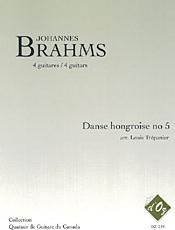 Danse hongroise no 5 (arr. L. Trépanier) - Brahms, J.