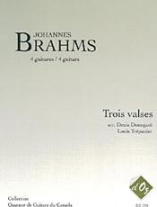 Trois valses (arr. Donegani, Trépanier) - Brahms, J.